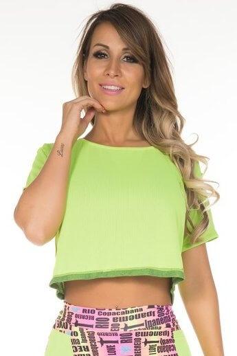 shirt-cropped-double-you-garota-fit-bl13a Garota Fit Fashion Fitness e Praia Garota Fit Fashion Fitness e Praia