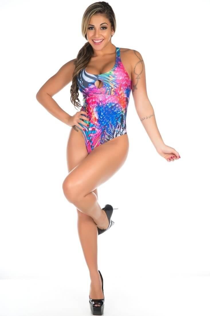 Garota Fit Body Nadador  BD04C
