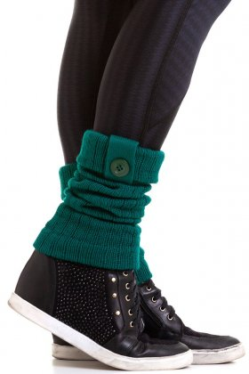 fitness-gaiter-of-dark-green-wool-garota-fit-pol01o Garota Fit Fashion Fitness e Praia