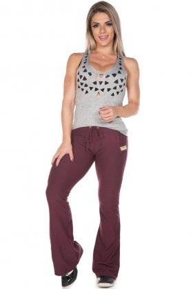 Calça Flare Lury - Garotafit FFL09FU Garotafit Fashion Fitness e Praia
