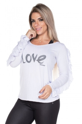 shirt-long-sleeve-love-garota-fit-bl43bu Garota Fit Fashion Fitness e Praia