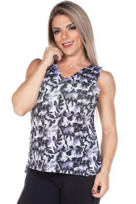 camouflaged-tank-top-garota-fit-bl52e01u Garota Fit Fashion Fitness e Praia