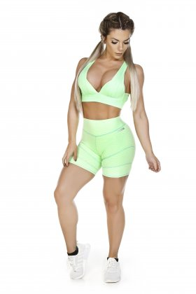 Shorts Emana - Garotafit SH442HF Garotafit Fashion Fitness e Praia