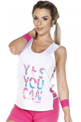 tank-top-yes-you-can-garota-fit-bl58b Garota Fit Fashion Fitness e Praia