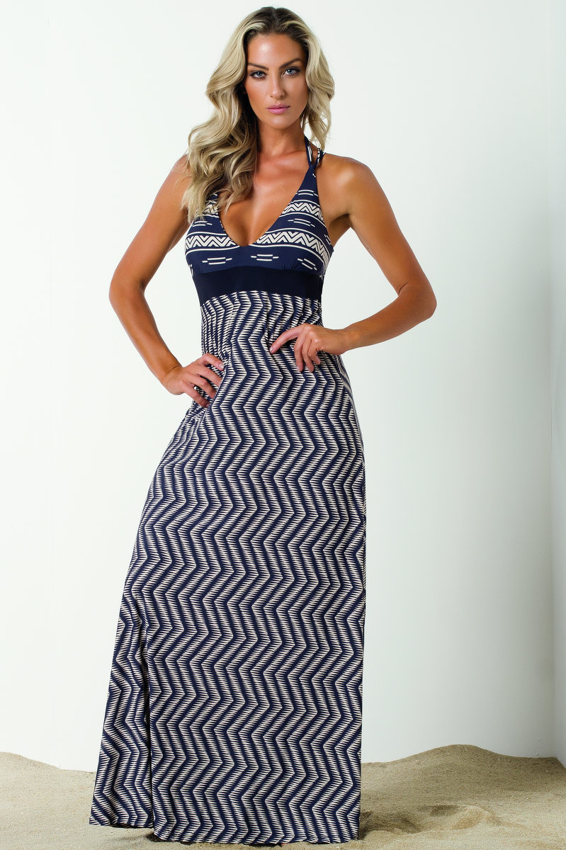 Vestem Vestido Longo de Praia Brigite SP67