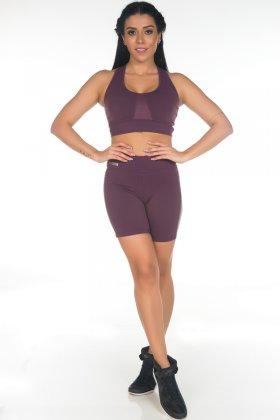 bermuda-cirre-uva-garota-fit-sbs02b Garota Fit Fashion Fitness e Praia