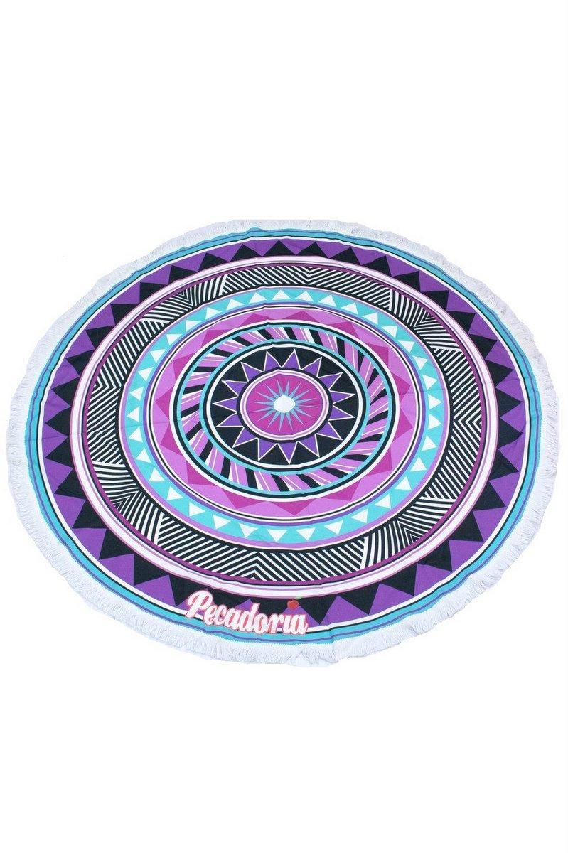 Garotafit Canga Redonda Mandala Lilás CG01O