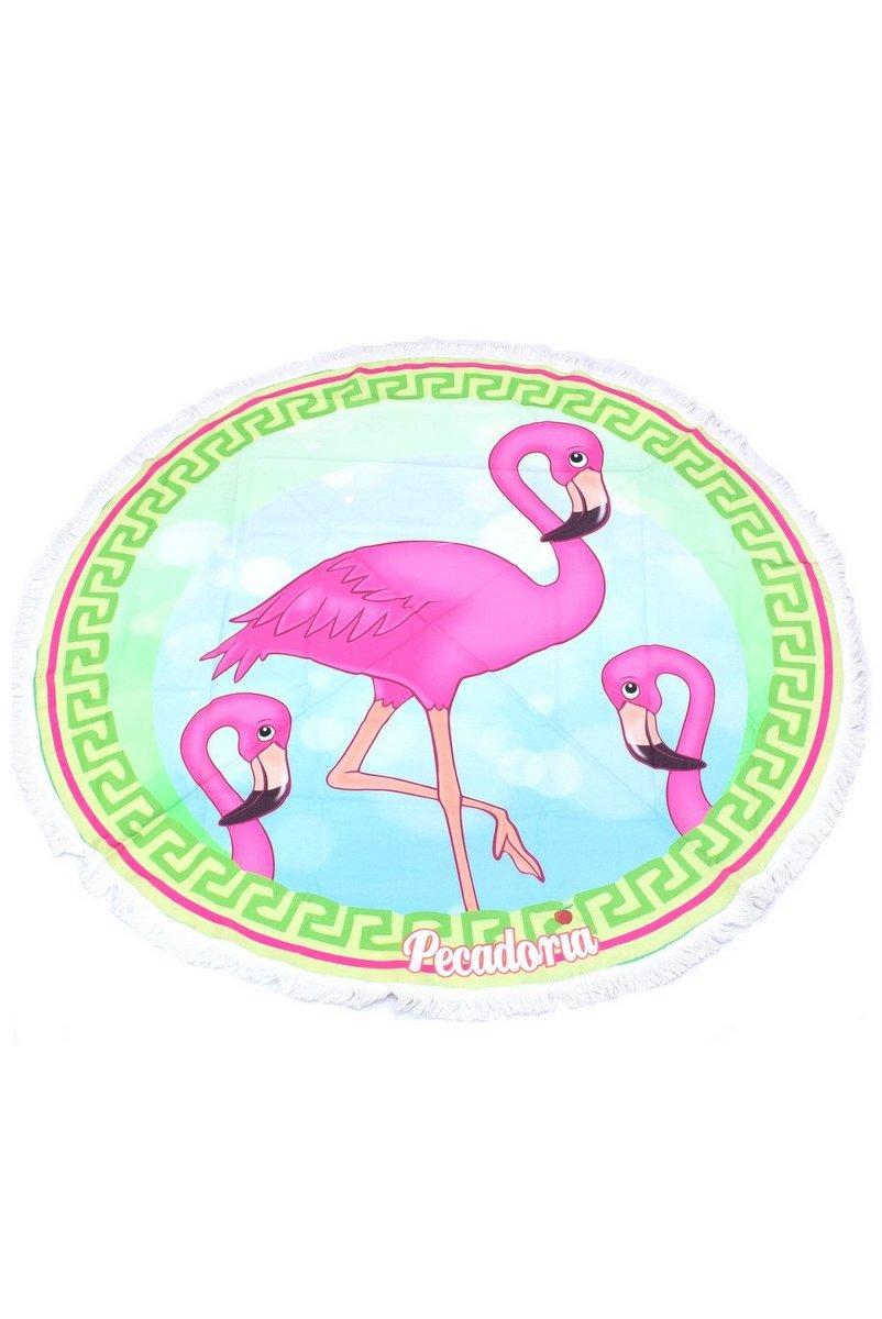 Garota Fit Canga Redonda Flamingo CG01L