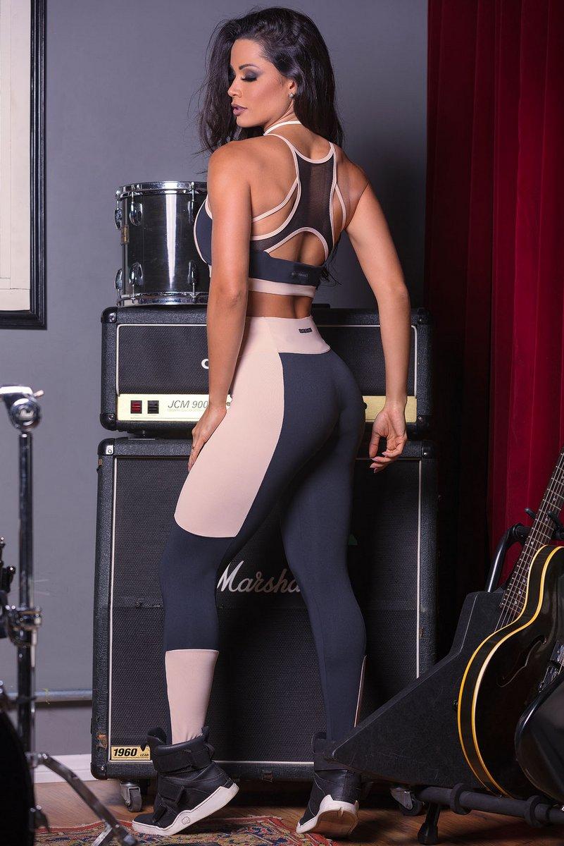 Hipkini Legging Rmb 2 Tone 3336042