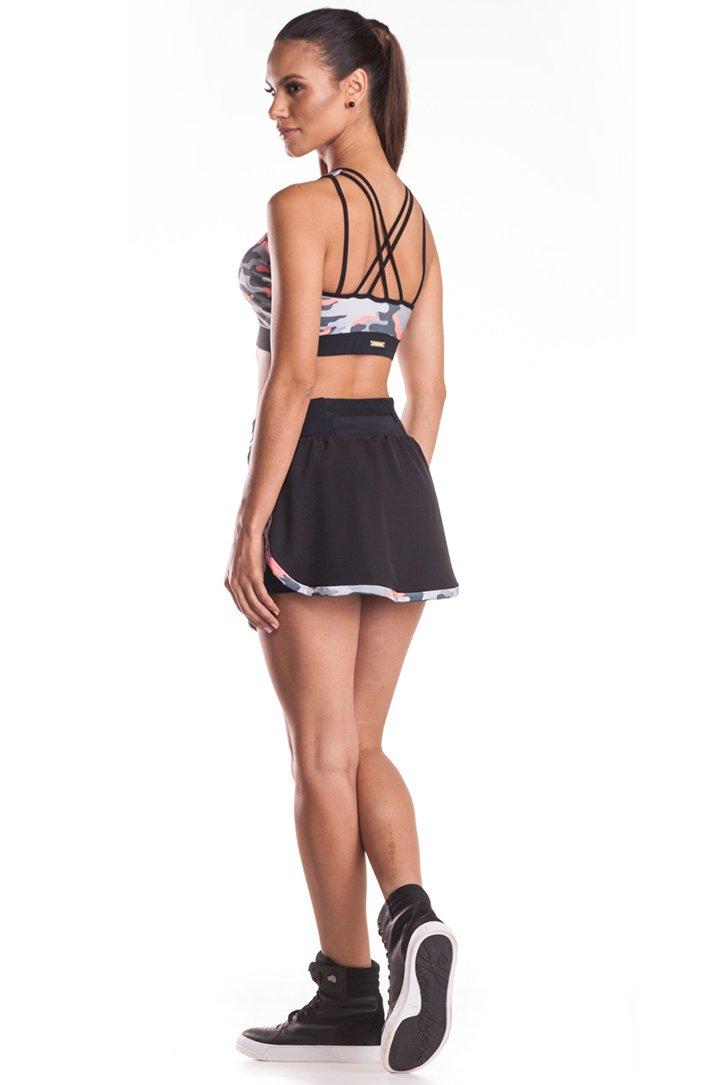Zero Açucar Shorts Saia Grovy 110093