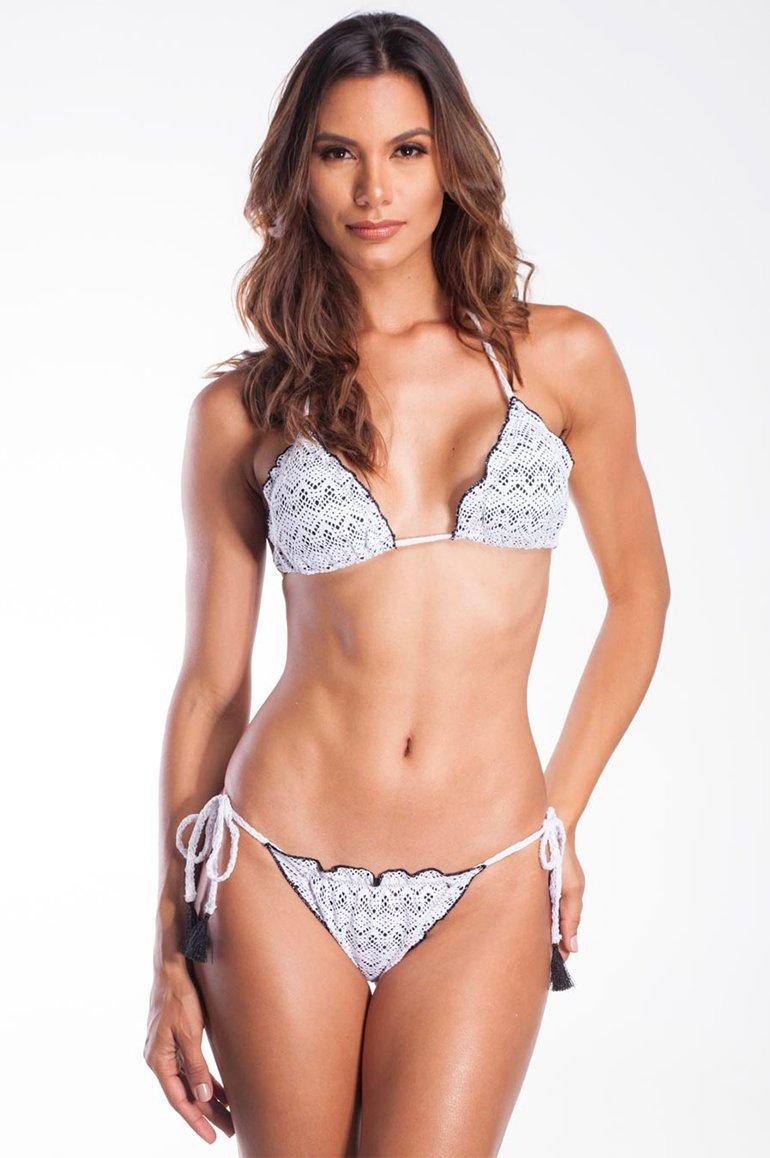 Zero Açucar Bikini Panties Crochet Bikini 175021C