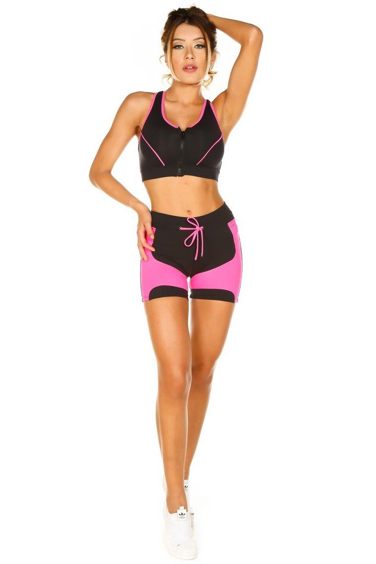Garota Fit Shorts Poli FCS45A