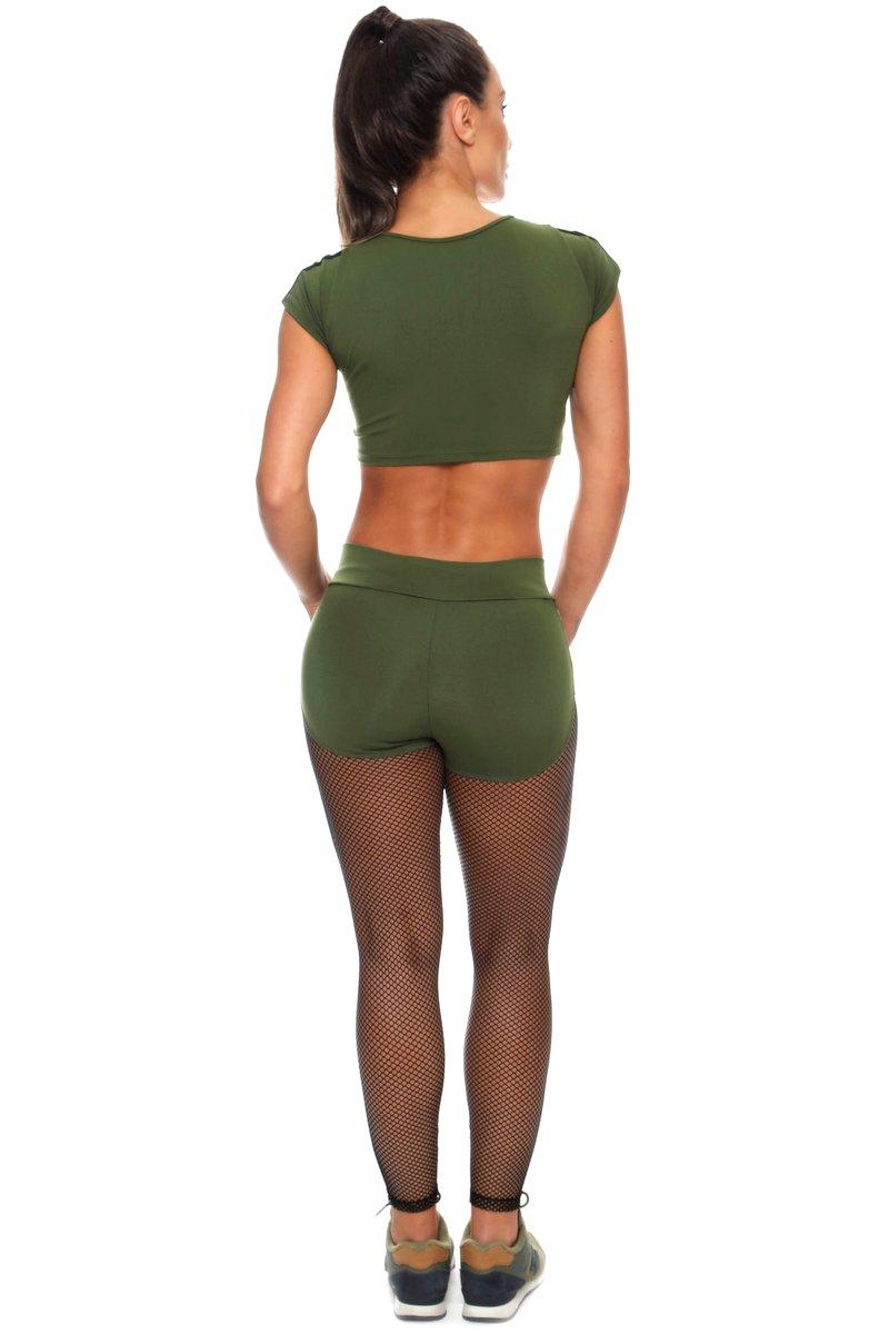 Canoan Calça Legging PowerLite Verde 11162