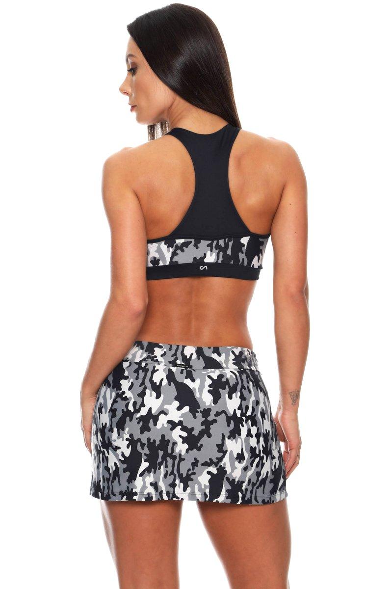 Canoan Shorts Saia Camouflage Gray 03137