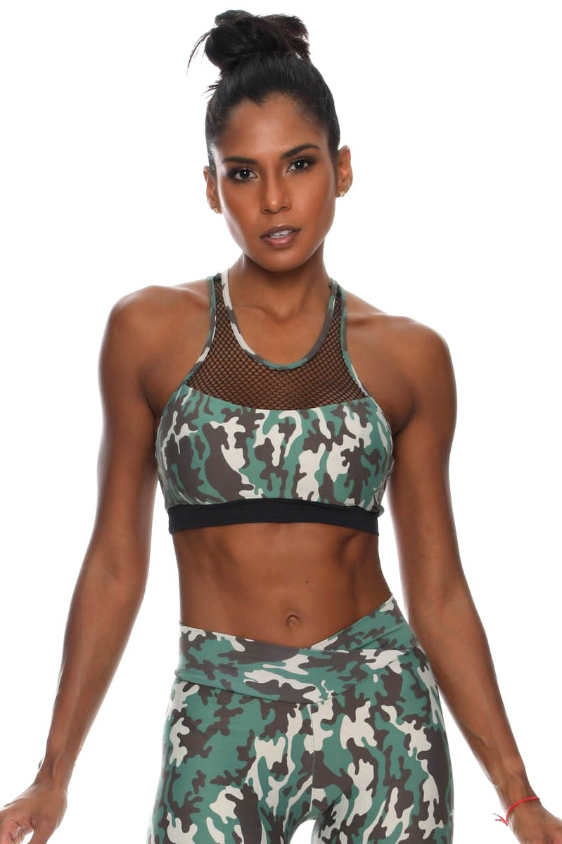 Canoan Top Camouflage Green 79138