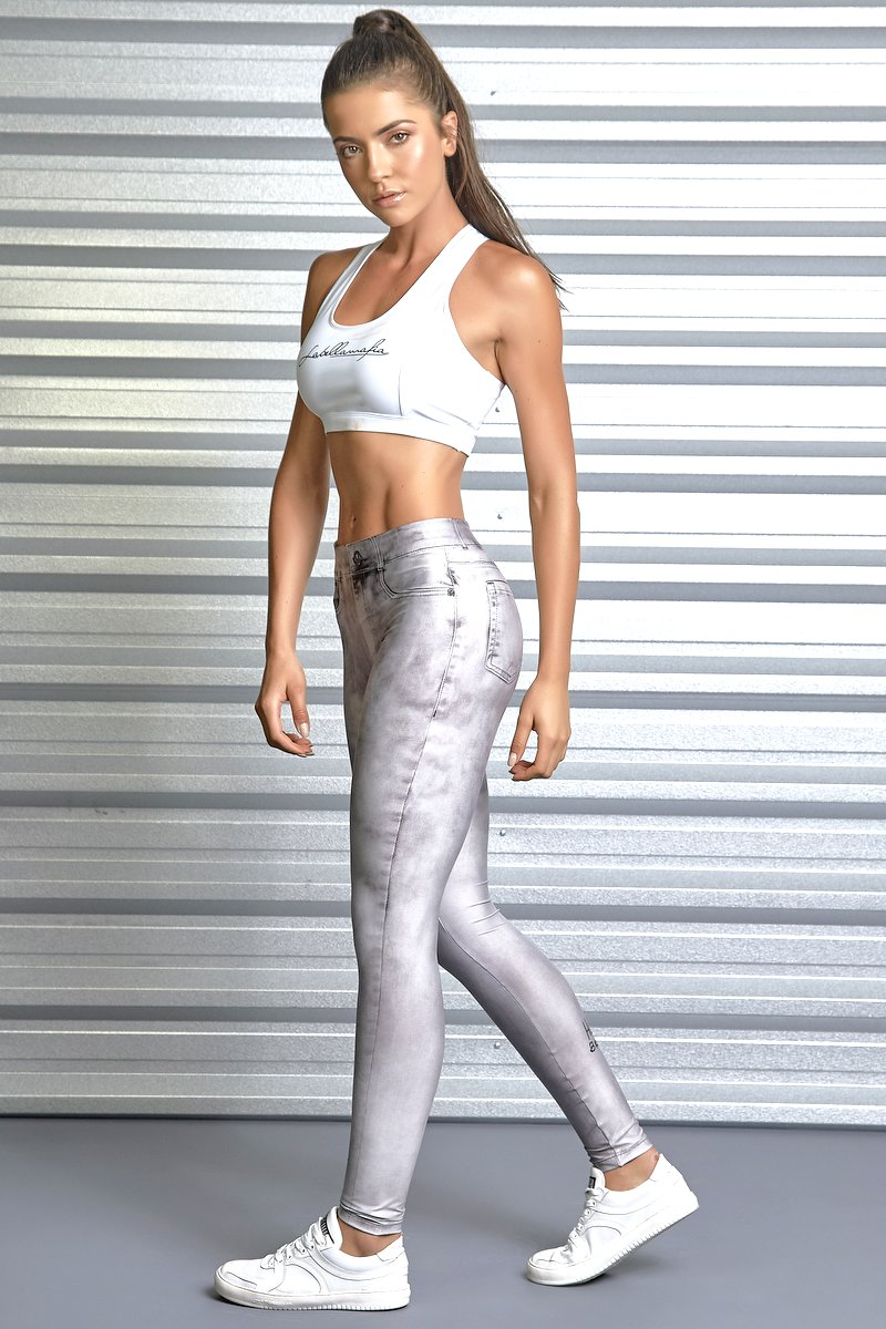 Labellamafia Calça Legging Jeans Labellamafia  FCL13399