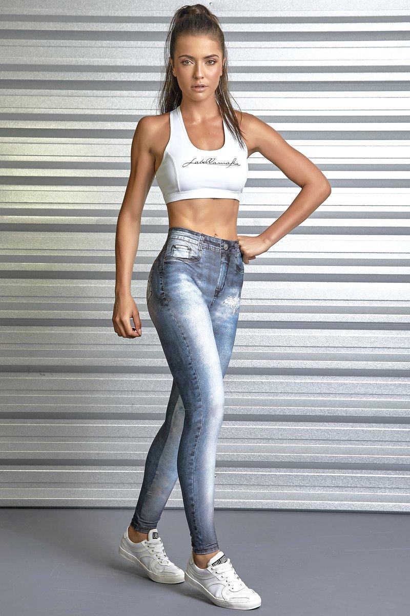 Labellamafia Calça Legging Jeans Labellamafia  FCL13400