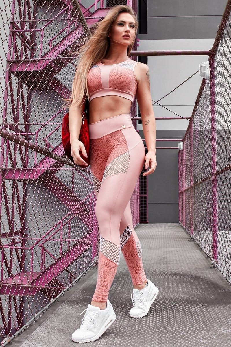 Lets Gym Calça Legging Galaxy L581B