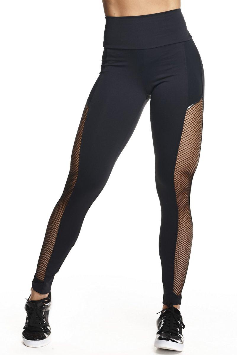 Lets Gym Calça Legging Push Up New Preta L577A