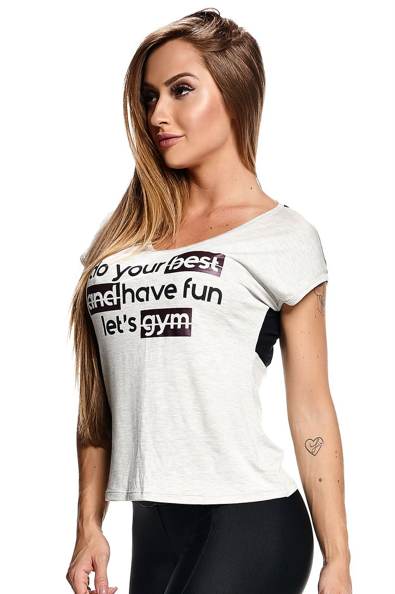 Lets Gym Blusa Best Fun B6222B