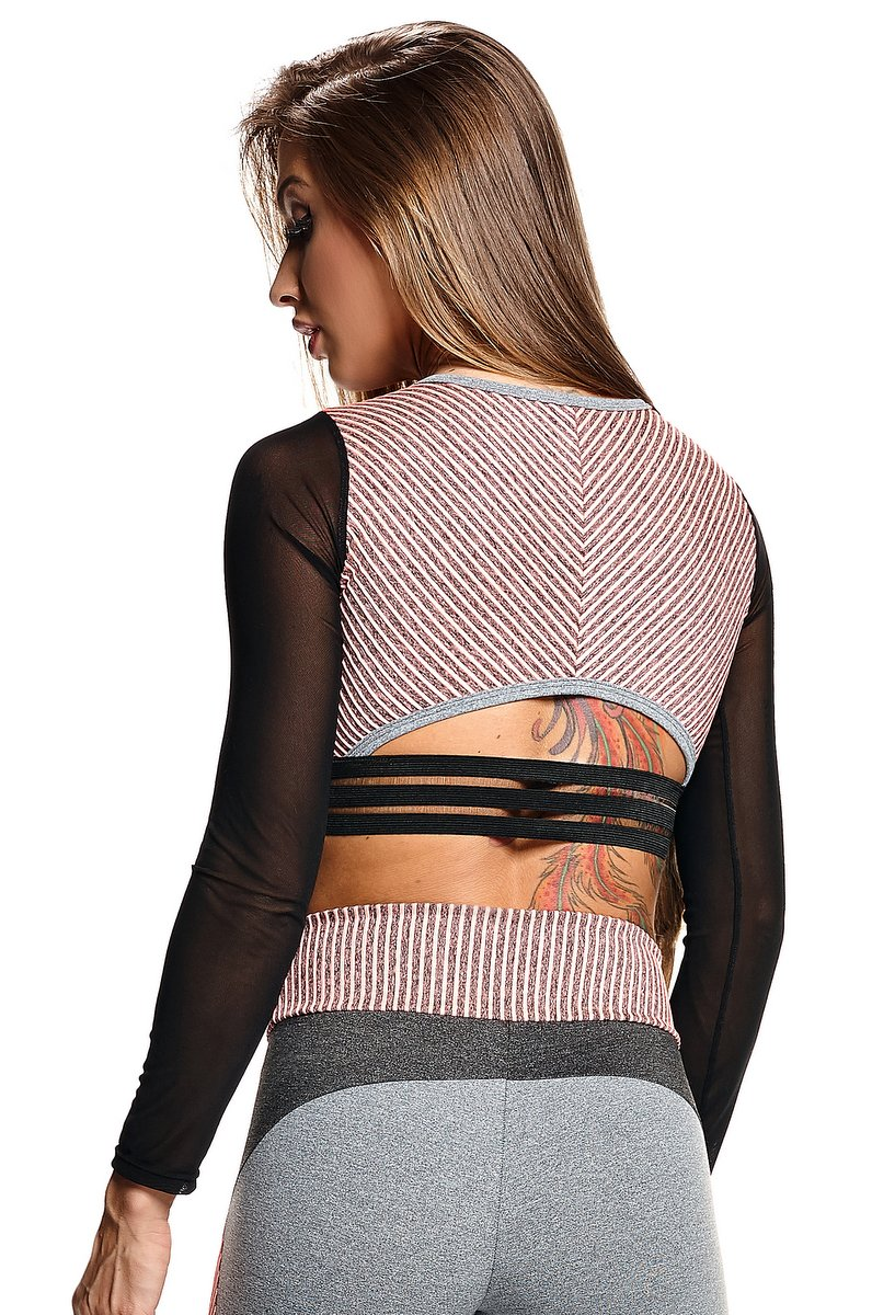 Lets Gym Blusa Cropped Active Strappys C643A