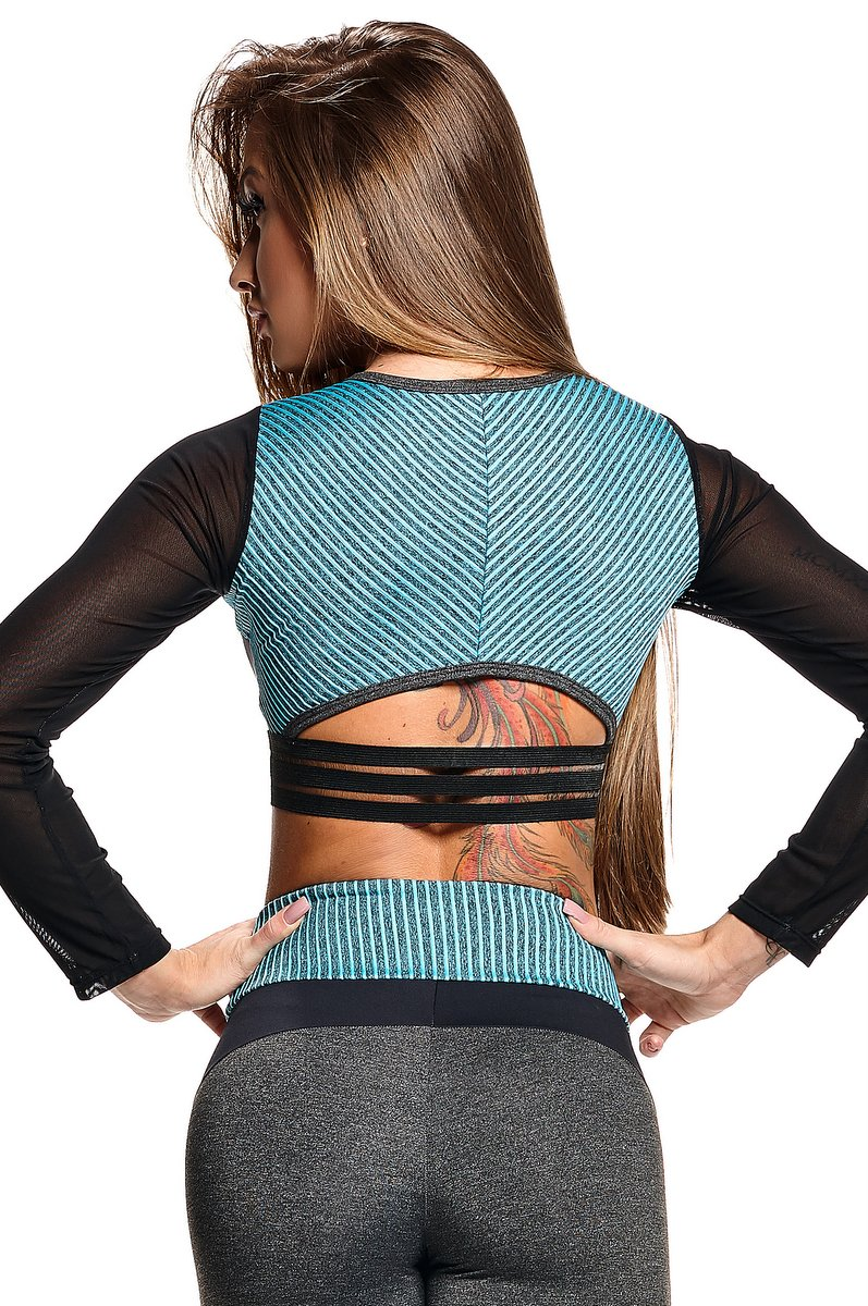 Lets Gym Blusa Cropped Active Strappys C643C