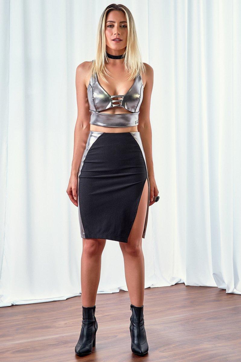 Labellamafia Skirt Midi Labellamafia MSA14525