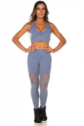 Calça Fusô de Laser Laís - Garota Fit FUS180CM Garota Fit Fashion Fitness e Praia
