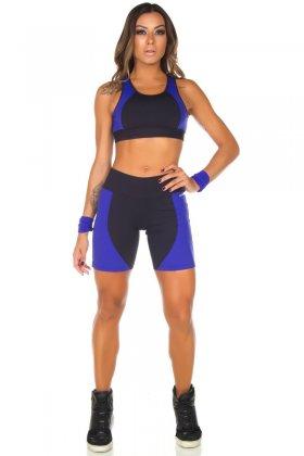 Shorts Hello - Garota Fit SH450LB Garota Fit Fashion Fitness e Praia