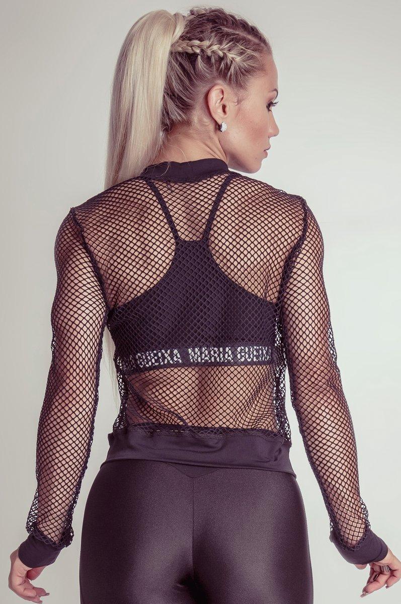 Maria Gueixa Blusa Tella Logo Maria Gueixa 005143A