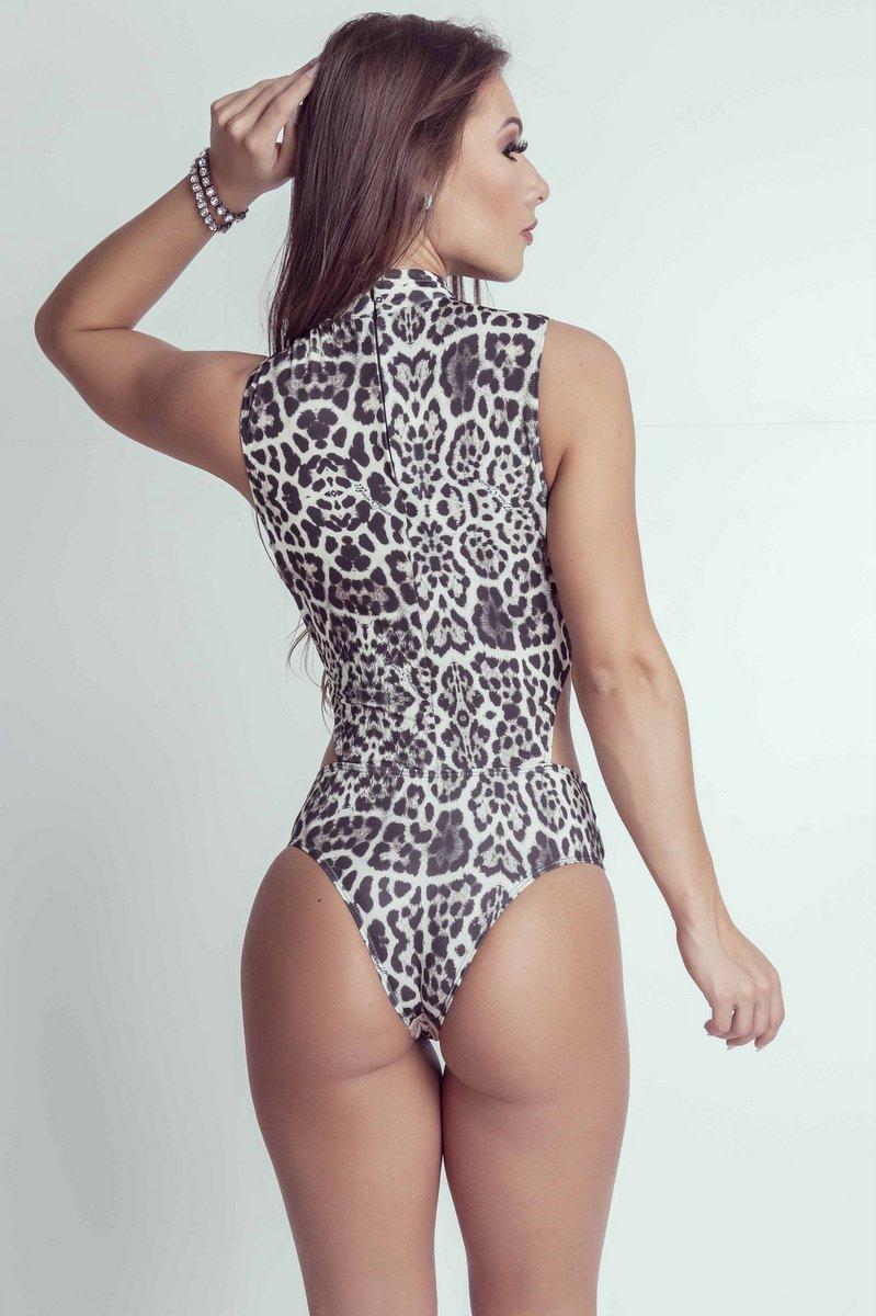 Maria Gueixa Body Maxi Decote Torcido 005310