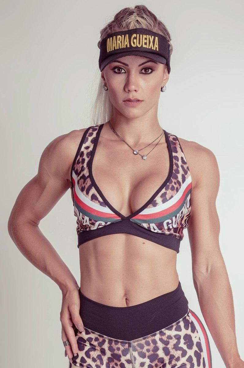 Maria Gueixa Top Fitness Dupla Face 005173