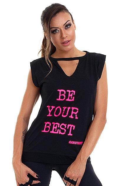 Garota Fit Regata Be Your Best BL70A