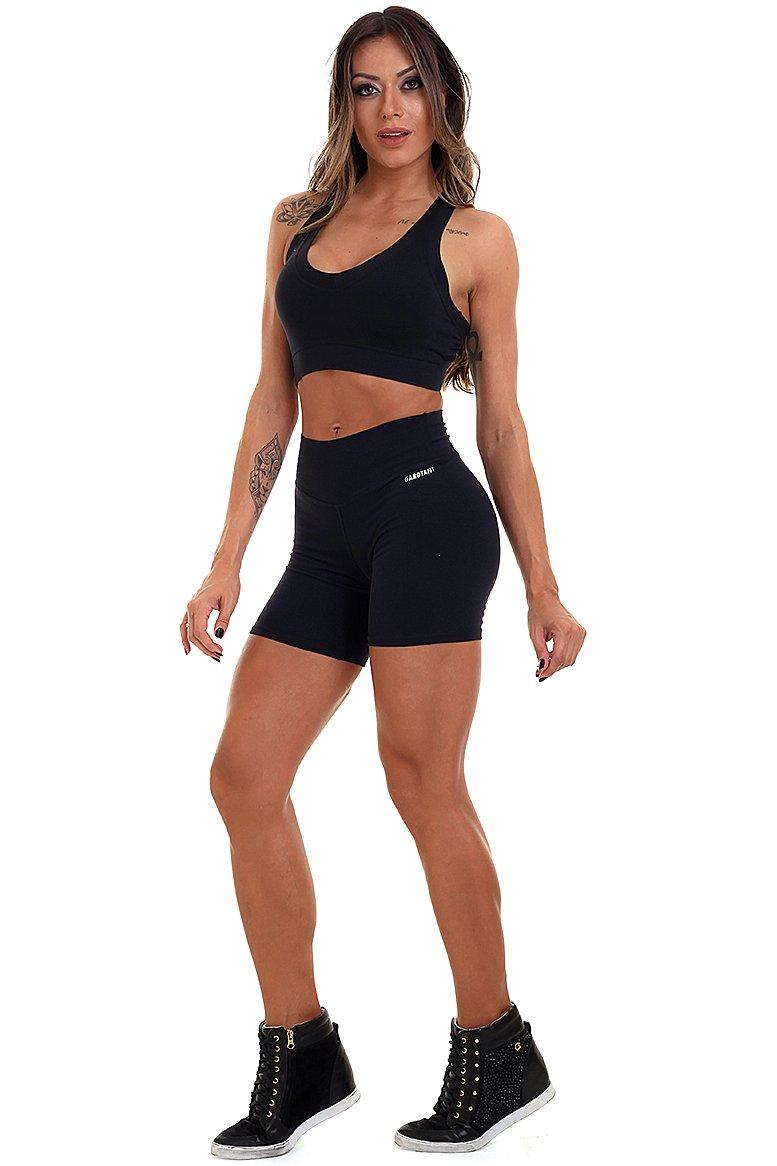 Garota Fit Shorts Basic SH455A