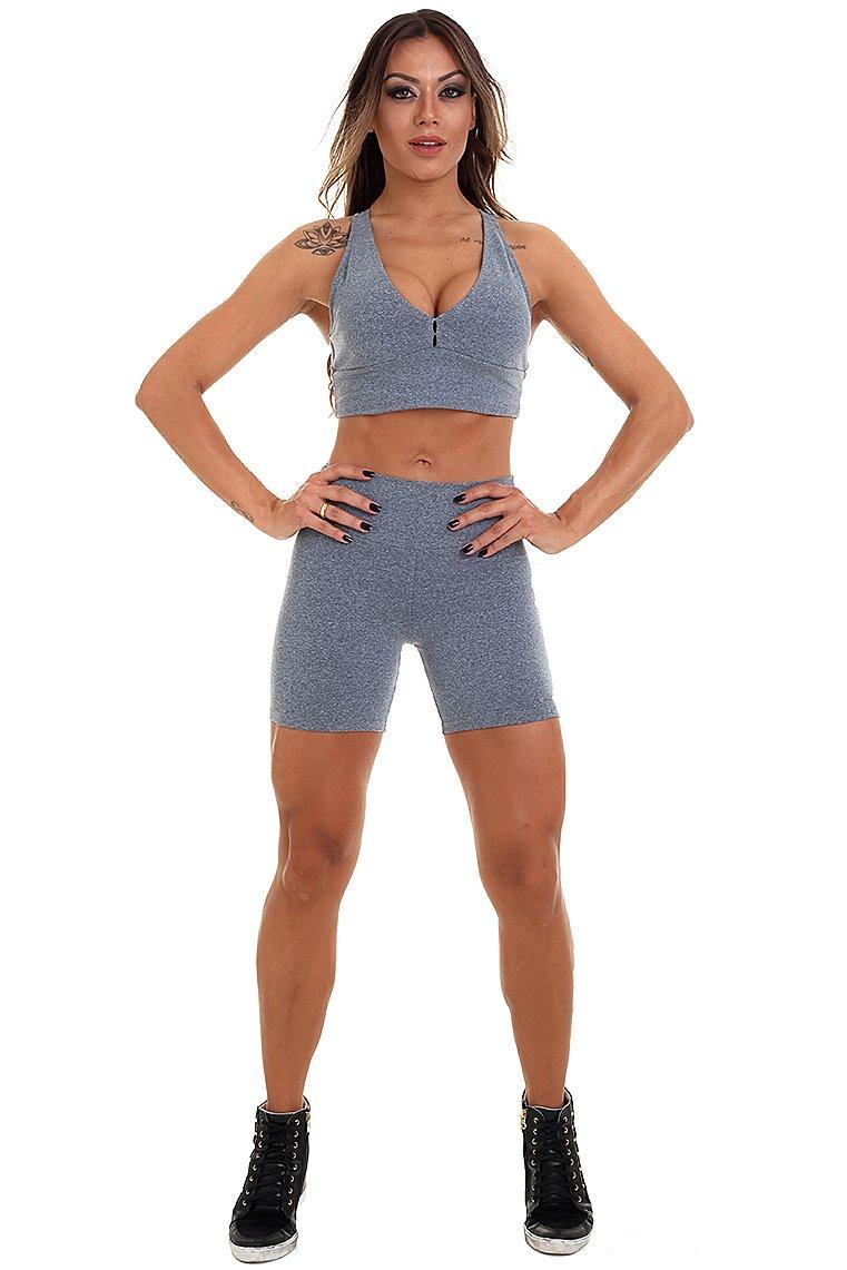 Garota Fit Shorts Basic SH455CM