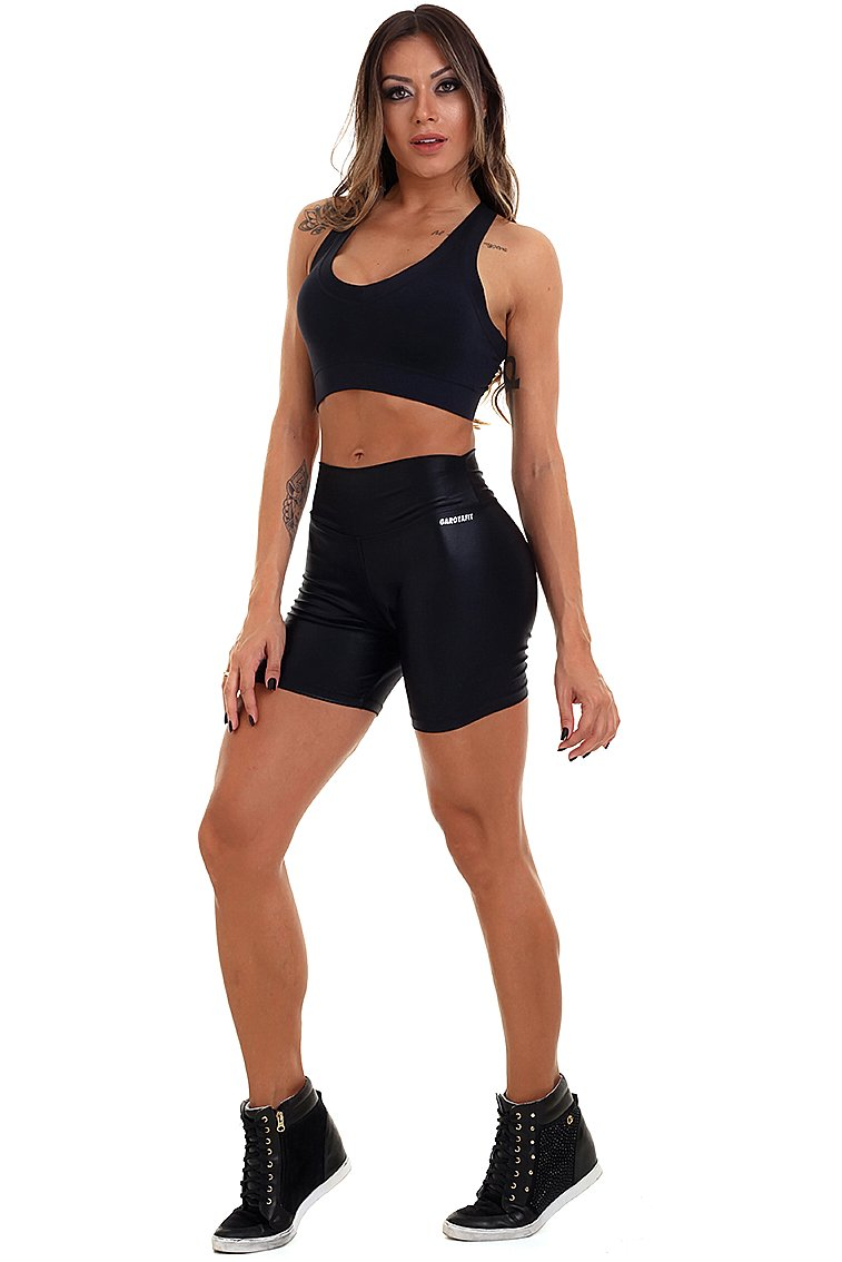 Garota Fit Shorts Cirre Basic SH456A