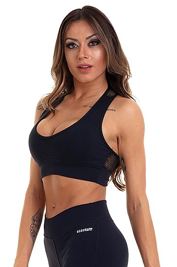 Garota Fit Top Light TOB18A