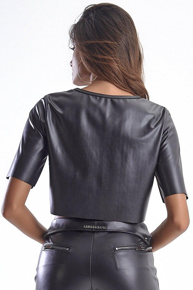 Labellamafia Blusa Cropped Labellamafia MBL14633