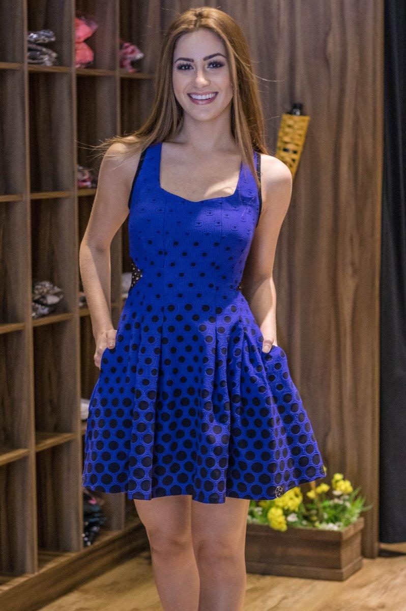 Miss Misses Vestido Jacquard com Pregas 212405