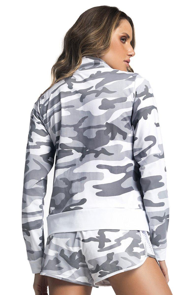 Vestem Jaqueta Run Camouflage JAC51