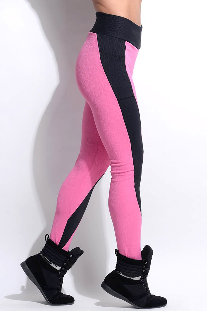 Superhot Calça Legging Resist Pink CAL1396