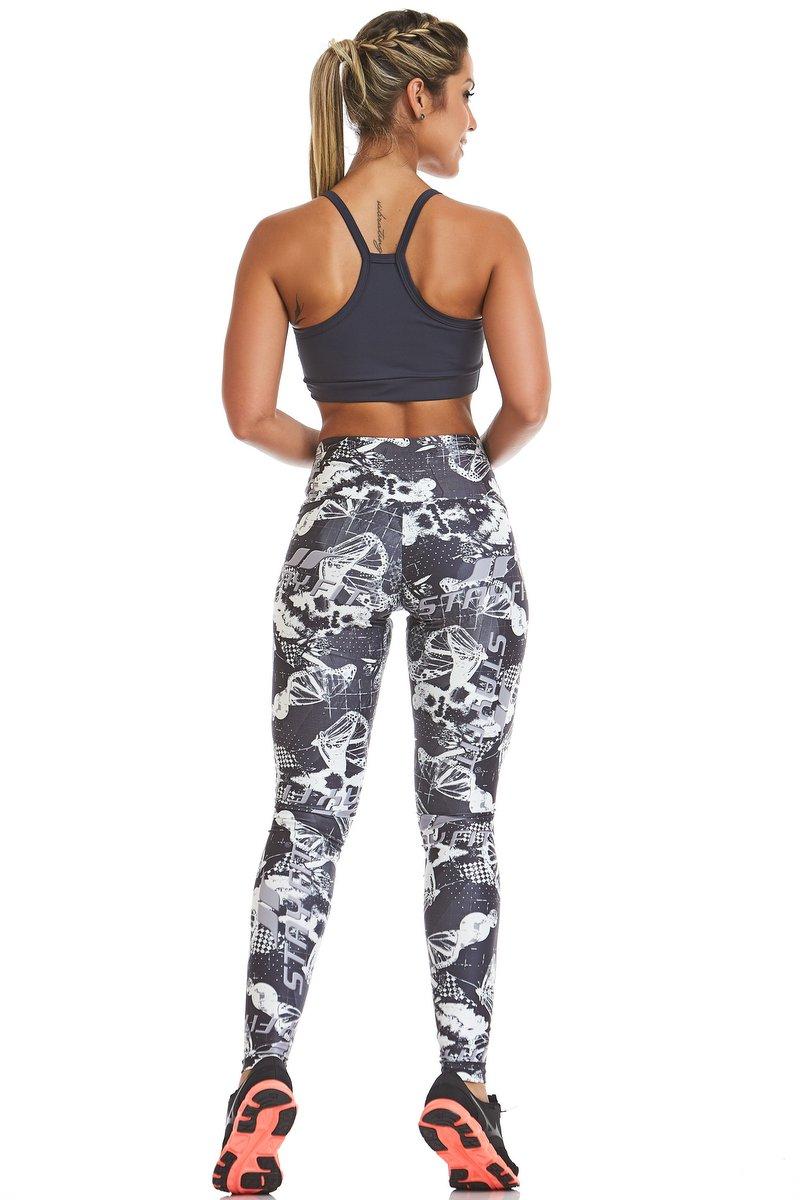 Stayfit Calça Legging Camouflage Stay SL45F601
