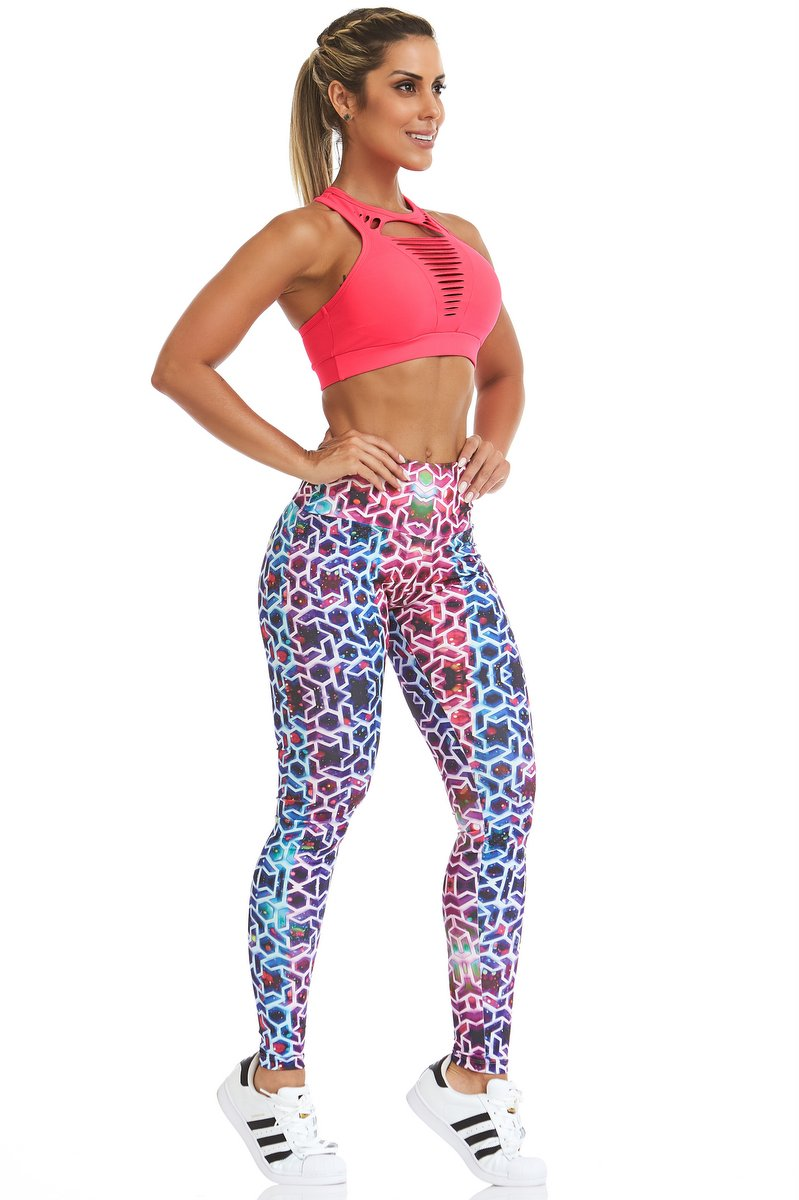 Stayfit Calça Legging Star Light Stay SL45F605