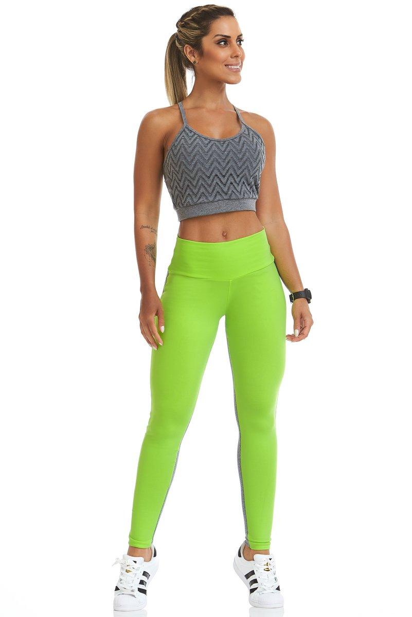 Stayfit Calça Legging Fluor Verde SL26F8165