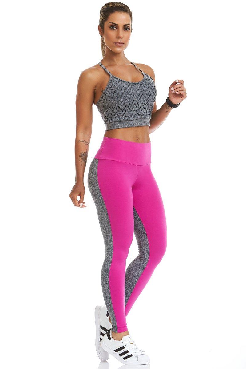 Stayfit Calça Legging Fluor Pink SL26F8178