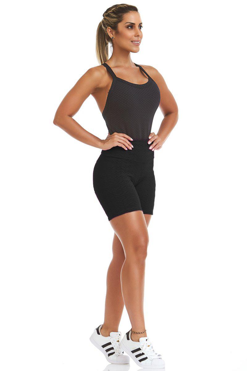 Stayfit Shorts Texture Preto SL04F6200