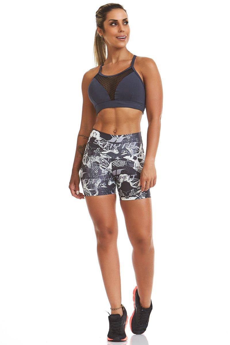 Stayfit Shorts Estampado Camouflage Stay SL44F601