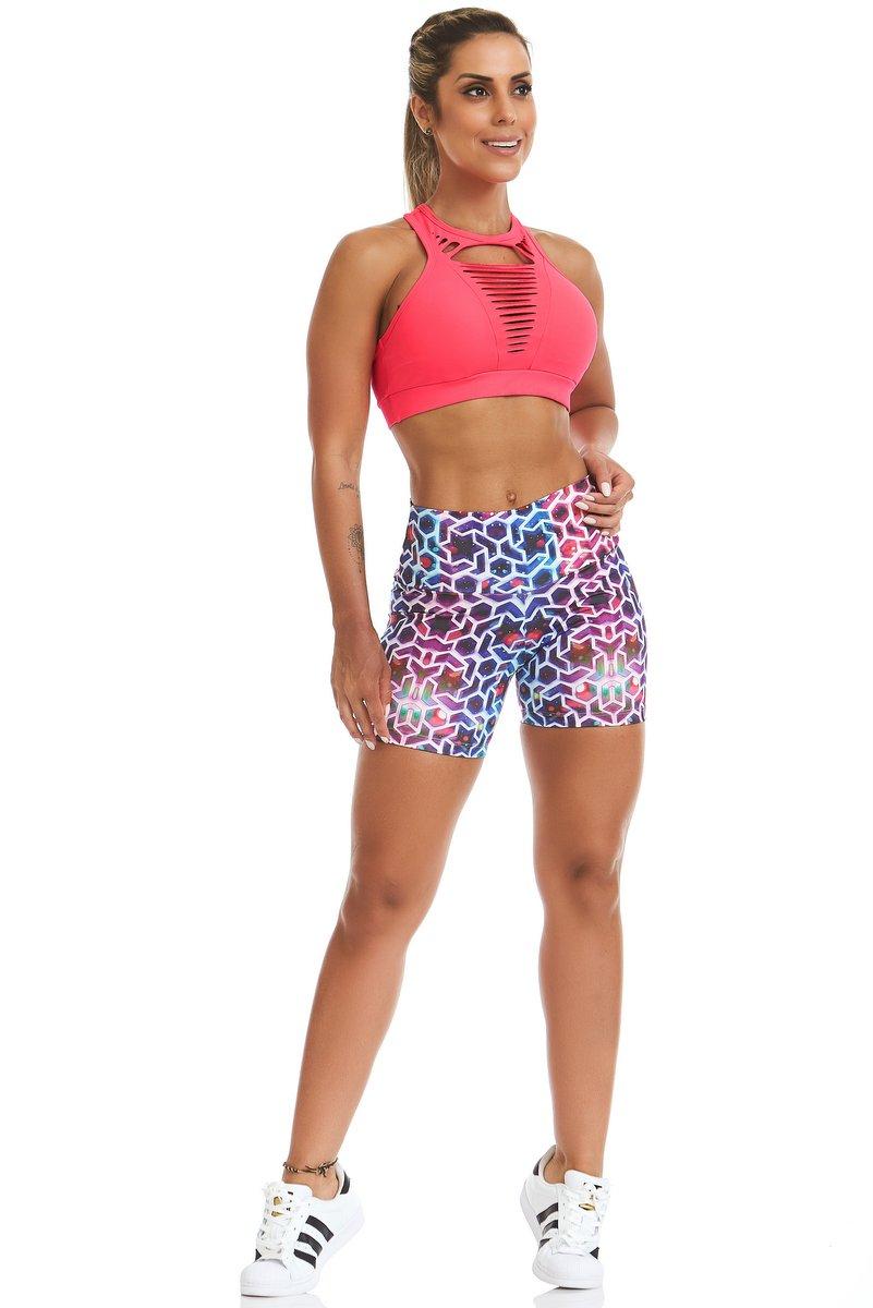 Stayfit Shorts Estampado Star Light Stay SL44F605