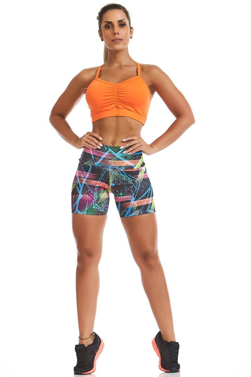 Stayfit Shorts Estampado Nature Stay  SL44F603