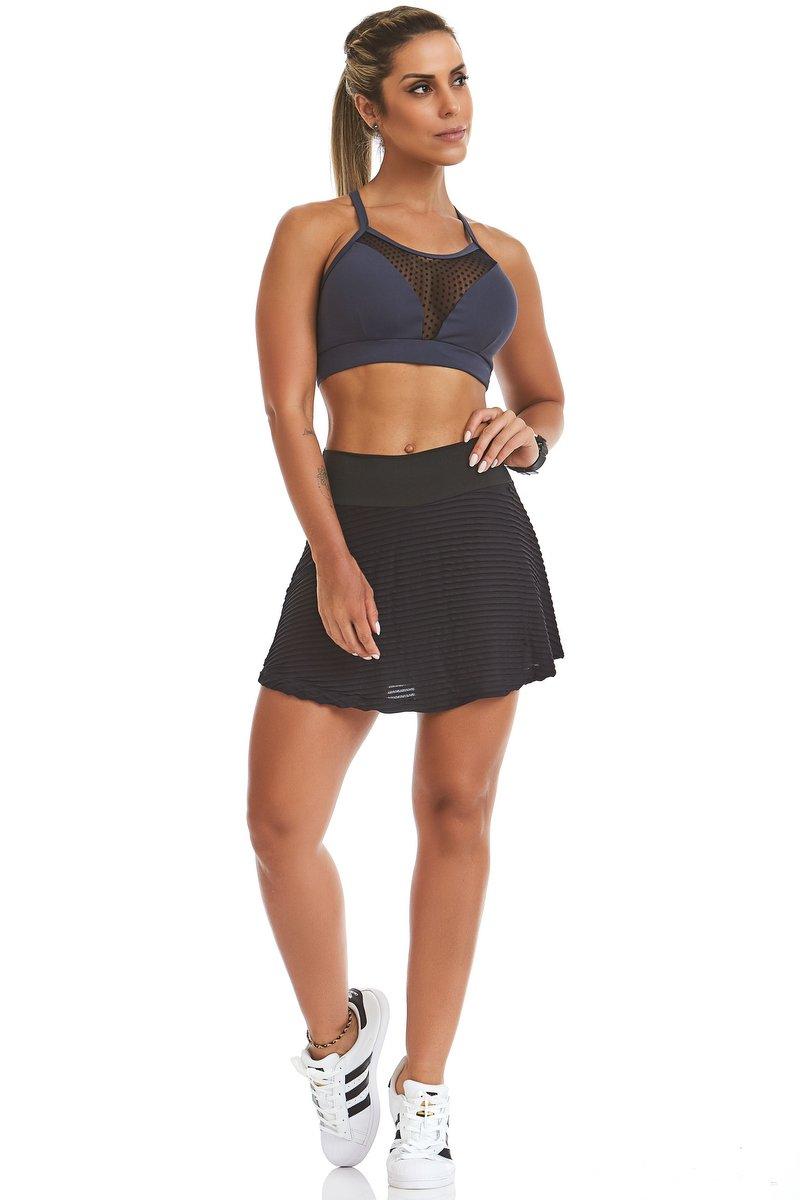 Stayfit Shorts Saia Dance Preto ou Branco SL09F11200-SL09F11100